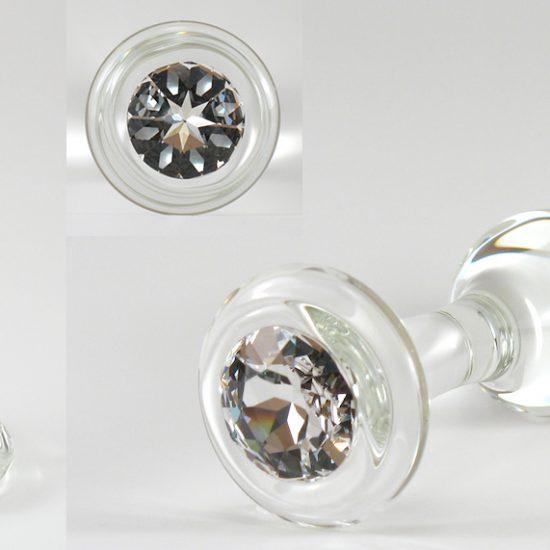 anal plugg glass stor pikk til stor