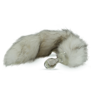 Faux fur tail – Siberian Husky