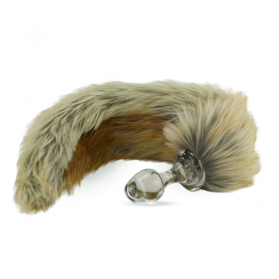 Faux fur tail Red Fox