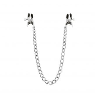 Adjustable wide nipple clamps