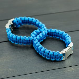 Blue Sexy Handcuffs with Metal Buckle