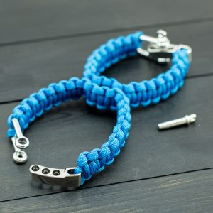 Blue Sexy Handcuffs with Shackle