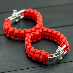 Red Sexy Handcuffs with Shackle