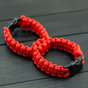 Red Sexy Handcuffs with Plastic Buckle